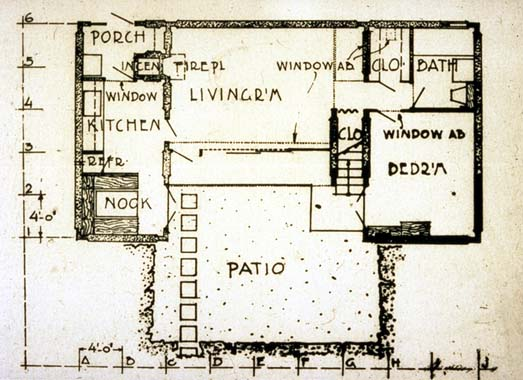 1000 images about rudolph m schindler architect on for Pueblo house plans