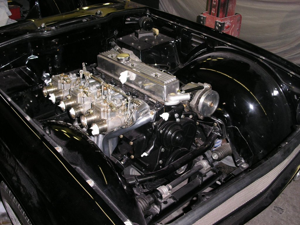 Triumph TR6 high-performance motor